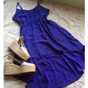 LAST CHANCE 💕 Cotton On Purple High-Low Dress XS